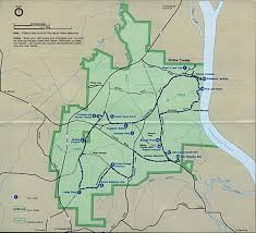 West Tennessee Map by National Historic Sites Memorials Military Parks And Battlefield