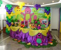 Decoration Themes 25 Best Barney Birthday Party Ideas On Pinterest Barney Party