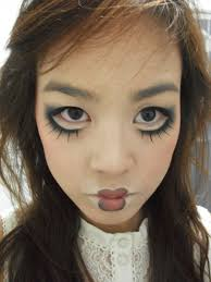broken doll halloween costume scary halloween makeup related scary clown makeup scary sad
