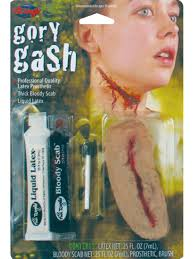gory gash fx kit fancy dress make up halloween horror zombie