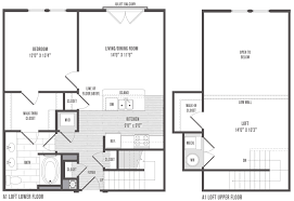 One Bedroom Apartment Designs by 1 2 And 3 Bedroom Floor Plans U0026 Pricing Jefferson Square Apartments