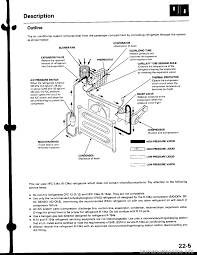 charging honda civic 1997 6 g workshop manual