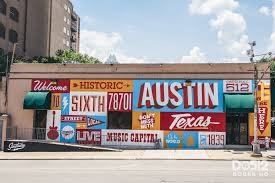 Map Card Austin by Some Of Our Favorite Street Art In Austin