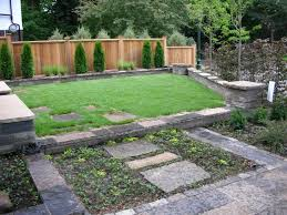 exterior backyard landscape designs front ideas with fence viewing