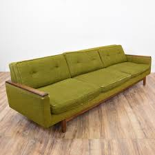 Mid Century Modern Sofas by This Mid Century Modern Sofa Is Upholstered In A Durable Woven