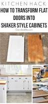 top 25 best diy kitchen cabinets ideas on pinterest diy kitchen kitchen hack diy shaker style cabinets