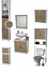 Space Saving Bathroom Furniture Over The Toilet Space Saver Cabinet Stockholm Oak Color 70 5