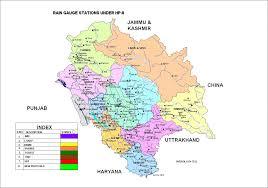 Hydrology Map Proposed Setup Of Raingauge