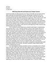 wwi essay   Eko aimf co Eko aimfFree Essay Example world war essay ap euro period april wwi essay world war essay ap euro period april