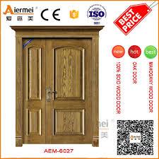 Kerala Style Home Front Door Design by Teak Wood Double Door Design Teak Wood Double Door Design