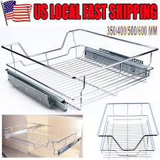 28 sliding shelves for kitchen cabinets wire metal pull out