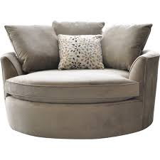 Barrel Chairs Swivel Cuddler Swivel Sofa Chair Roselawnlutheran