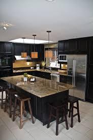 Dark And White Kitchen Cabinets 52 Dark Kitchens With Dark Wood And Black Kitchen Cabinets