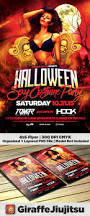 halloween costume party flyer template flyer template
