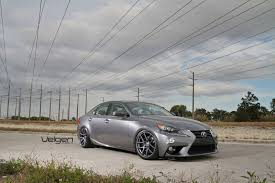 lexus is350 wheels 2014 lexus is350 velgen wheels matte gunmetal 19x9 u0026 19x10 5