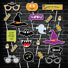 halloween photo booth props printable photo booth props