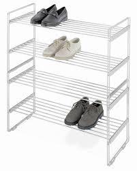 whitmor stackable closet shelves 2 tier chrome shelves review