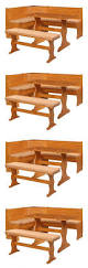dining tables high back dining bench arhaus dining bench table