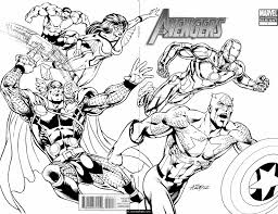 all superhero coloring pages downloadmarvel superheroes avengers