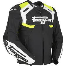 fluorescent bike jacket furygan akira leather motorcycle jacket waterproof motorbike ce