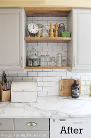 Update Kitchen Cabinets Hack Your Kitchen For An Over The Range Microwave Kitchen Update