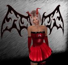 Red Wings Halloween Costume Marketplace Red Latex Devil Demon Halloween