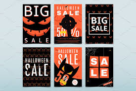 12 posters for halloween sale flyer templates creative market