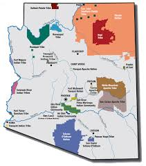 Map Of Arizona by Fire Information
