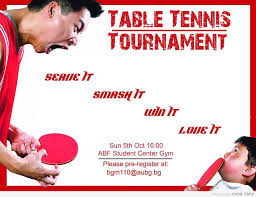 Table Tennis Tournament by Table Tennis Tournament At Aubg Aubg Daily