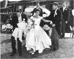 the wedding of john and jacqueline kennedy john f kennedy