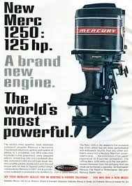 1968 mercury 1250 outboard motor advertising outdoor life january