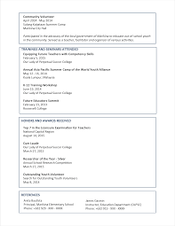 Resume Examples For Food Service by Resume Fcps Special Education Housekeeper Resume Samples