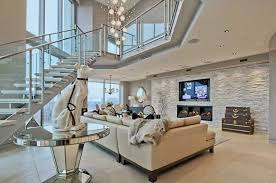 Luxury Contemporary Family Room Design Ideas  Pictures Zillow - Contemporary family room design