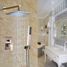 sr sun rise srsh f5043 bathroom luxury rain mixer shower combo set