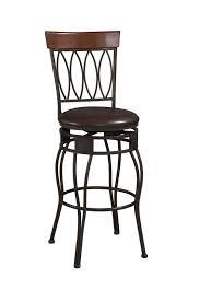 leather saddle bar stools antique metal backrest bar stool in black lacquer finished using