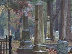 Tombs of Oakwood Cemetery in