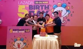 Sambutan   tahun Lazada penuh tawaran yang sukar dilepaskan