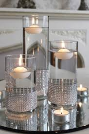 Silver Centerpieces For Table Best 25 Silver Table Ideas On Pinterest Silver Living Room
