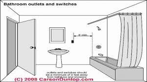 bathroom electrical code sesapro com