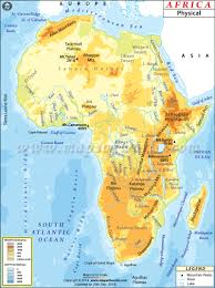 Blank Map Of Afro Eurasia by Africa Physical Map World Geography Pinterest Africa And