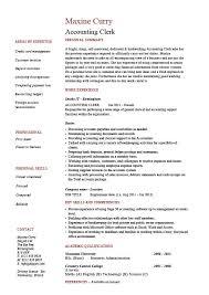 Accounting Resume Examples by Download Accounting Clerk Resume Haadyaooverbayresort Com
