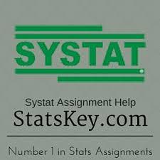 Systat Stats Homework Help   Statistics assignment and Project Help Systat Assignment Help