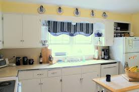 blue and white striped kitchen curtains image of gray kitchen