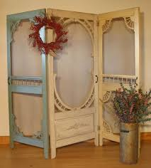 hand made denise u0027s screen door room divider by country woods