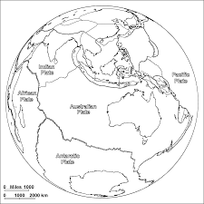 plate tectonics coloring page science printables pinterest