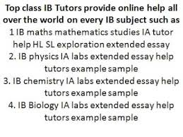 IB Physics Extended Essay Video
