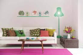 perfect modern colorful living room furniture design with black