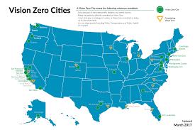 Washington Traffic Map by Vision Zero Cities U2013 Vision Zero Network