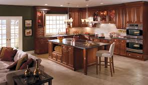 Built In Kitchen Cabinets Fireplace Great Aristokraft Cabinets For Best Choise Kitchen