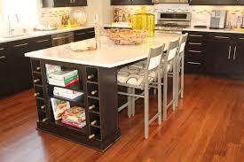 furniture home inspiring rustic black white kitchen island table
